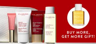 Free 5-Pc Gift Set($71 Value) With $85 Clarins Purchase @ Nordstrom