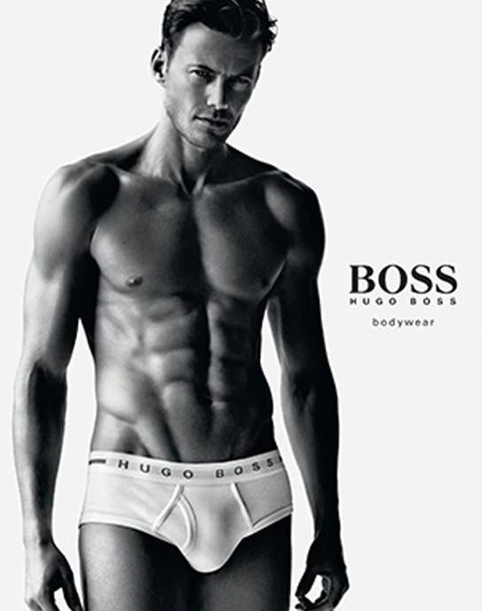 BOSS HUGO BOSS Men's Cotton 3 Pack Traditional Brief