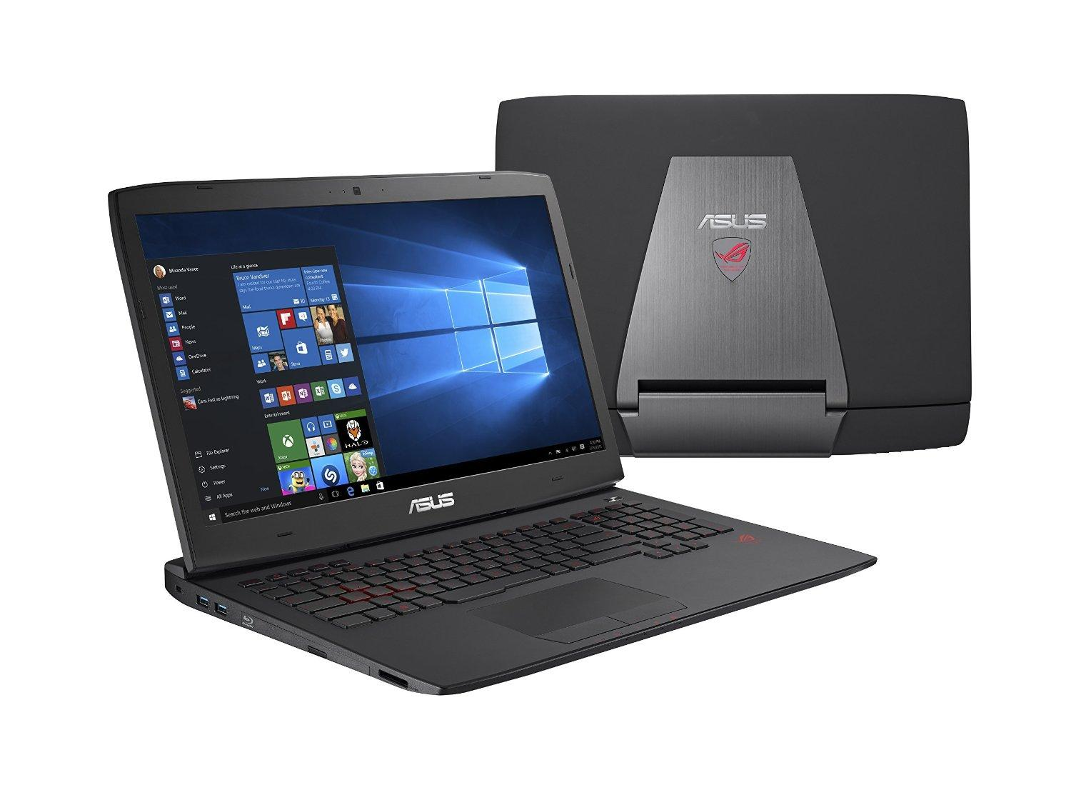 $1599.00 ASUS ROG G751JY-WH71(WX) 17-Inch Gaming Laptop, Nvidia GeForce GTX 980M