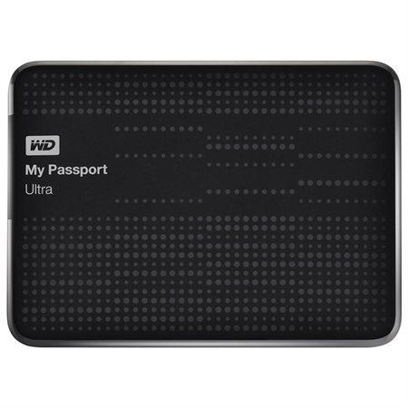WD My Passport Ultra 2TB USB 3.0 Portable Hard Drive - Titanium