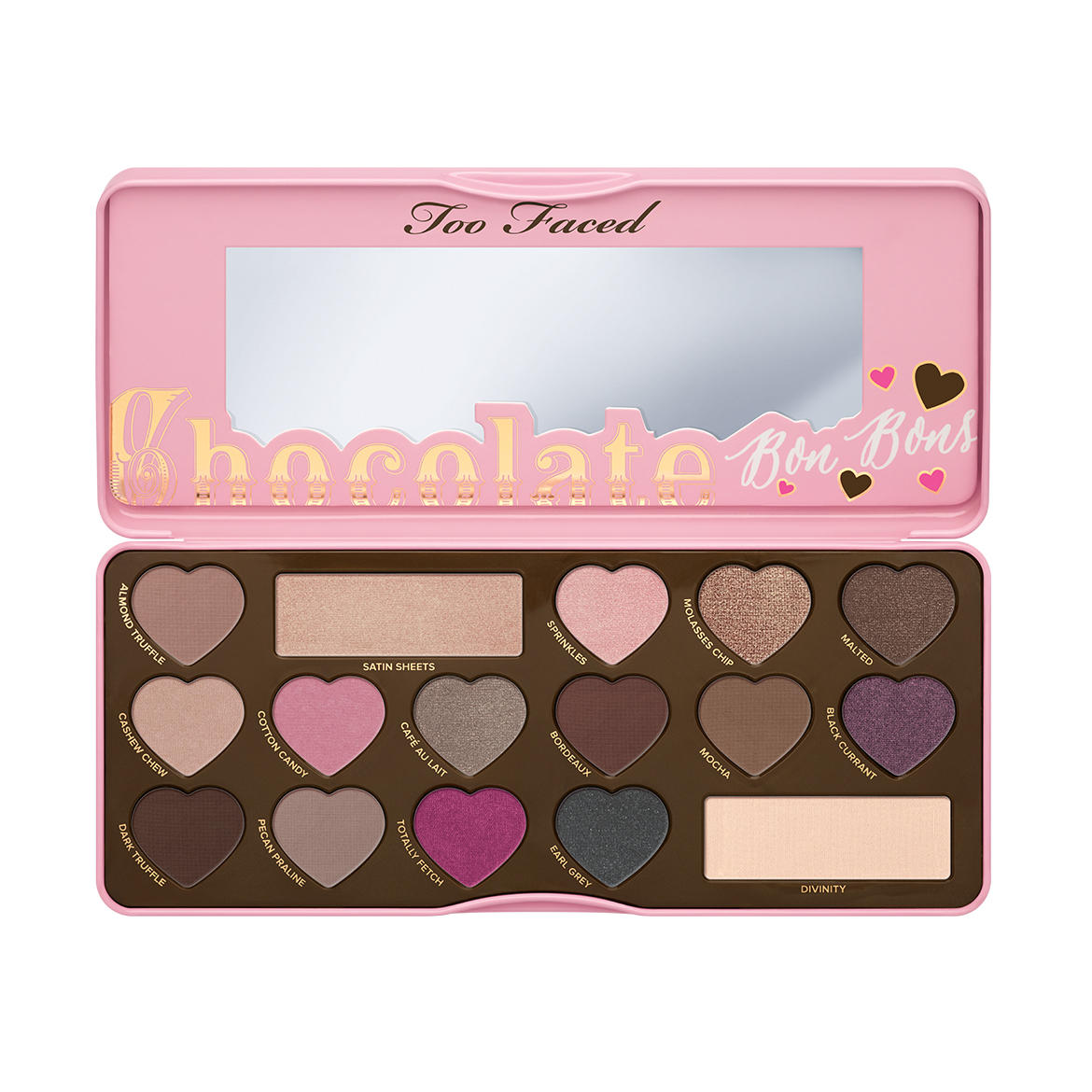 New Release Too Faced lauched New CHOCOLATE BON BONS Palette