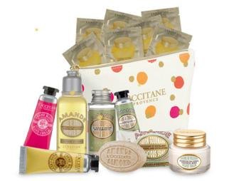 Free Holiday Gift with Any Purchase @ L'Occitane