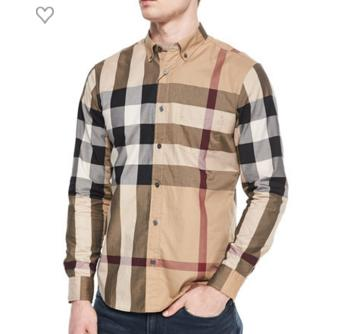 Up to $100 Off Burberry Men's Apparel @ Neiman Marcus