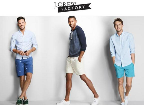 Extra 35% Off Select Styles and Extra 40% Off Clearance Men's Items @ J.Crew Factory
