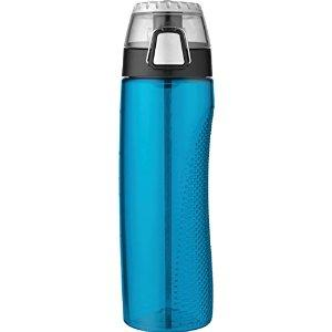 Thermos 24 Ounce Tritan Hydration Bottle with Meter, Teal