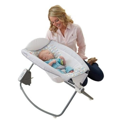 Fisher-Price Auto Rock 'n Play Sleeper - Aqua Stone Fashion