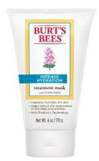 Burt's Bees Intense Hydration Treatment Mask, 4 Ounce