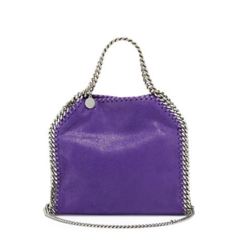 Stella McCartney Falabella Mini Tote Bag, Bright Purple @ Neiman Marcus
