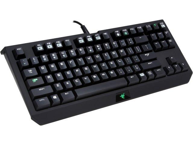 Free RAZER Abyssus gaming mouse & mouse pad w/ purchase RAZER Blackwidow Tournament Edition Gaming Mechanical Keyboard