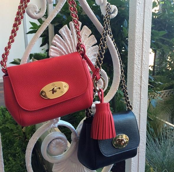 Mulberry Mini Lily Convertible Bag, Poppy Red On Sale @ MYHABIT
