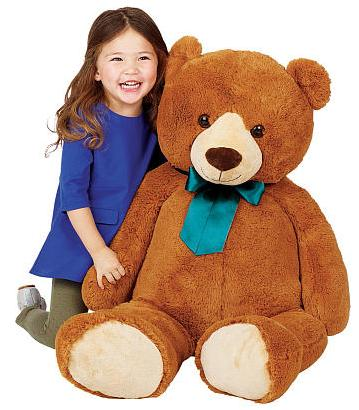 $19.99 Toys R Us Animal Alley 42 inch Bear Plush with Ribbon