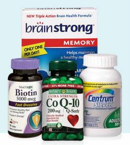 10% Off $45 on Vitamins & Supplements at Walgreens