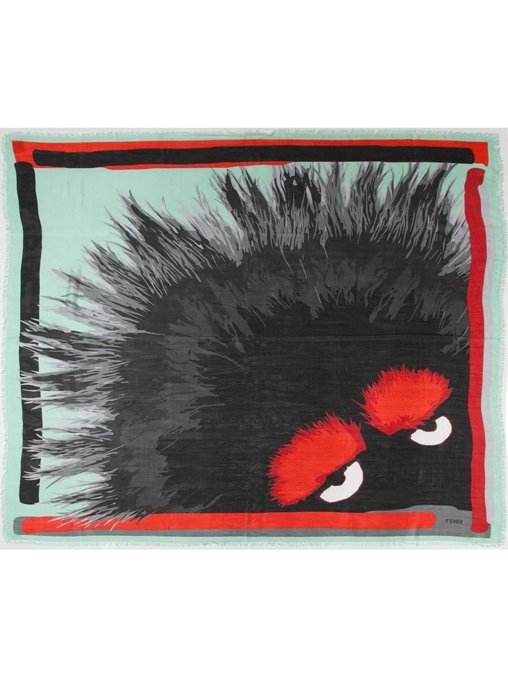 Up to 51% Off FENDI Scarves On Sale  @ Farfetch