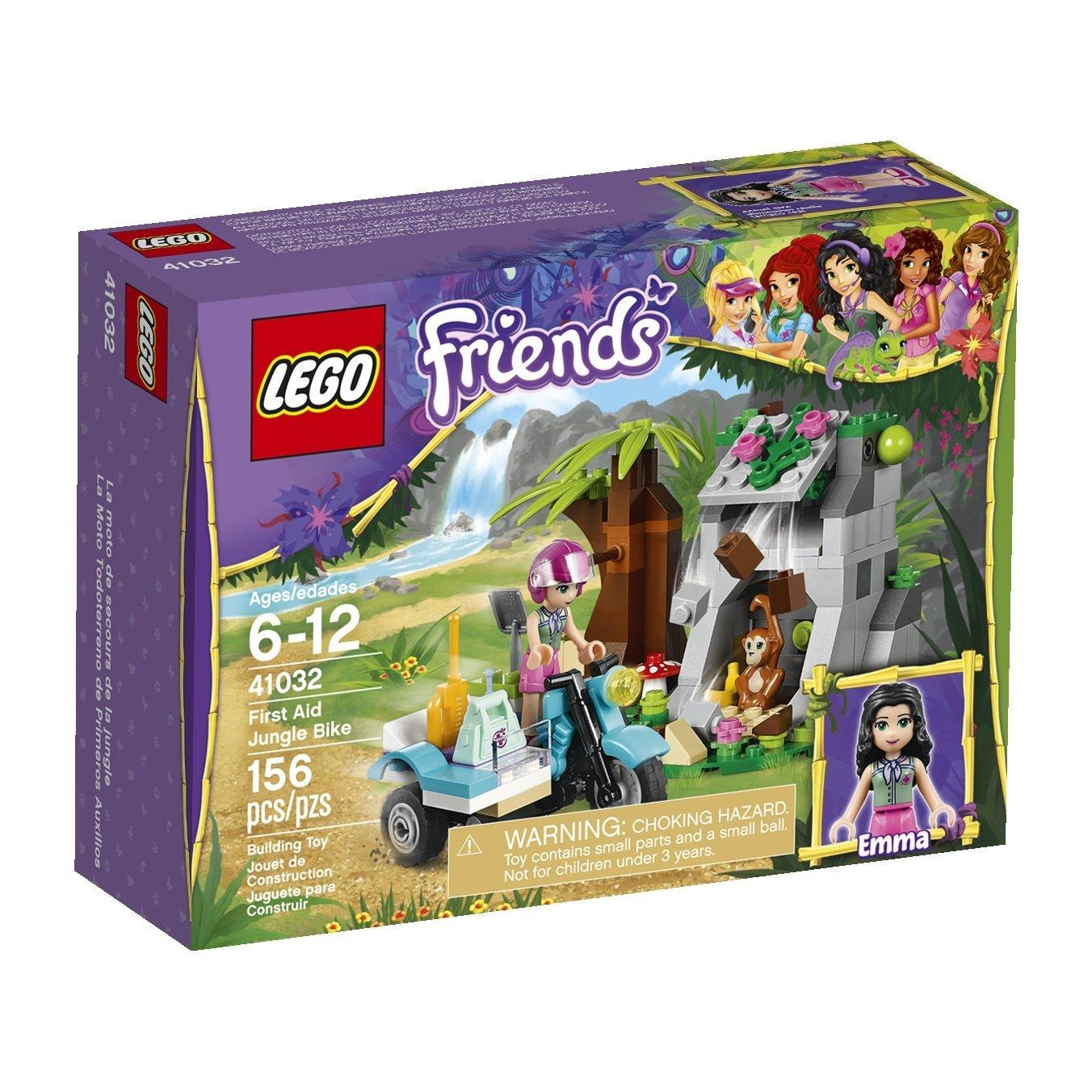 Lowest Price Ever! LEGO Friends First Aid Jungle Bike 41032 Building Set