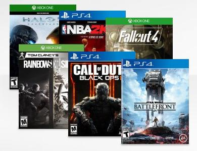 Buy 2 Get 1 Free! Best Buy Video Game Sale (Xbox One or PS4)