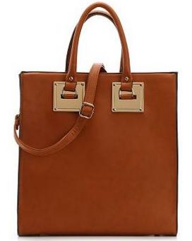 Madison West Gold Plate Tote