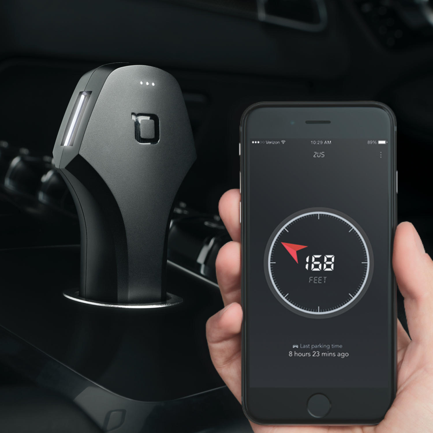 40% OFF Sale! US Military Grade, Smart USB Car Charger& Car Locator- ZUS