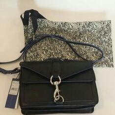 Rebecca Minkoff Hudson Moto Mini Convertible Cross Body Bag