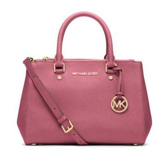 Michael Kors Sutton Small Saffiano Leather Satchel