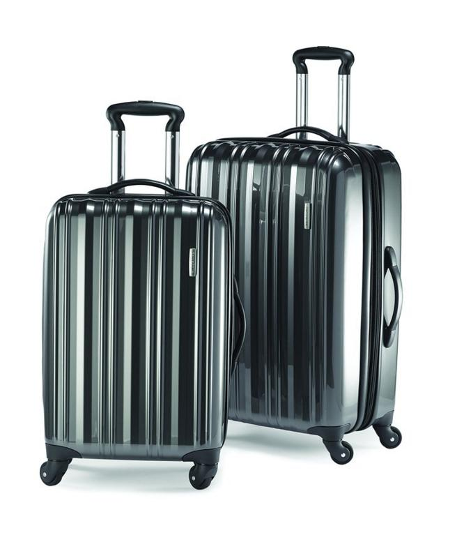 $187.46 Samsonite Lightweight Two-Piece Hardside Spinner Set