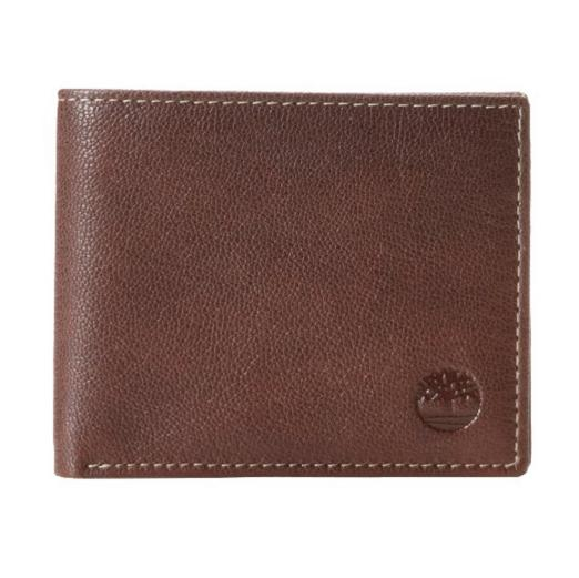 $14.92 Timberland Men's Blix Leather Passcase Wallet