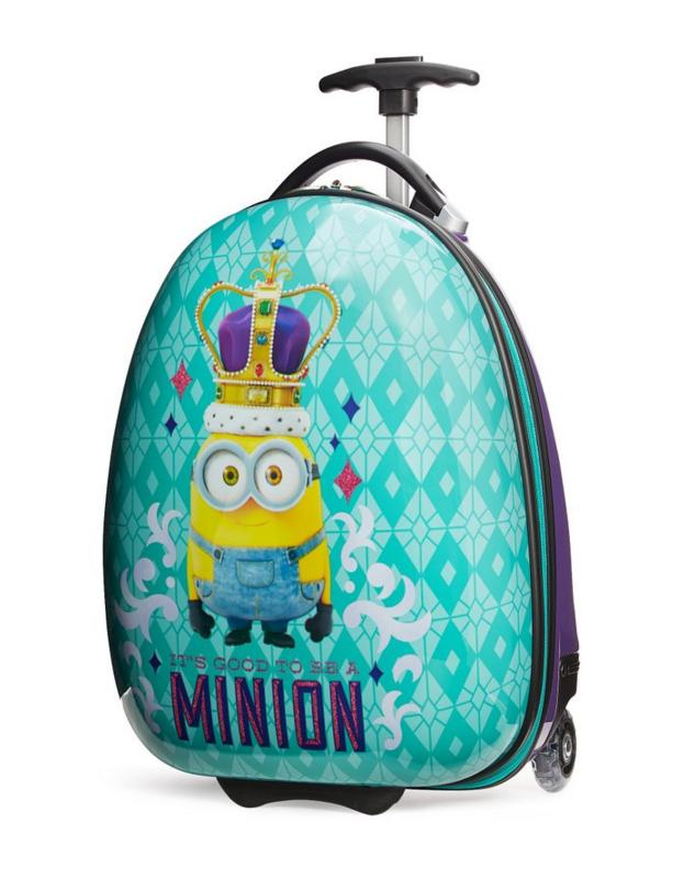 $38.24 Travelpro Minions Kid's Hard Side Luggage