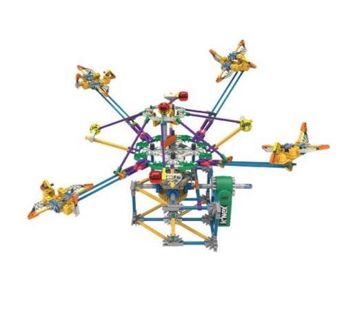 Lowest price! K'NEX Supersonic Swirl Building Set, 464 Pieces
