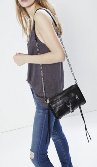 Rebecca Minkoff Mini Mab Leather Crossbody @ Saks Off 5th
