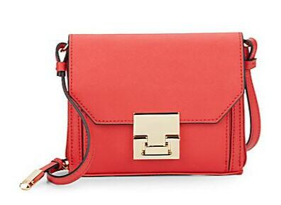 Ivanka Trump Hopewell Saffiano Leather Mini Crossbody @ Saks Off 5th