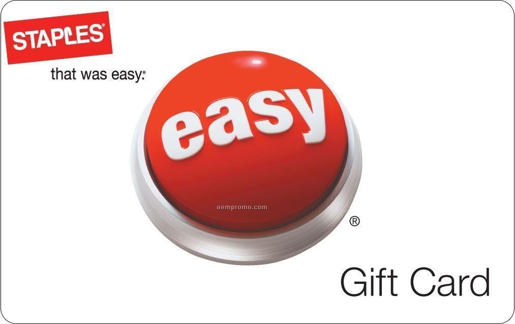 Free $50 gift card$300 staples gift cards
