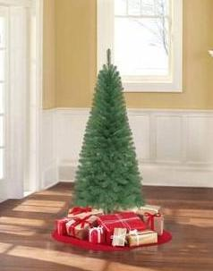 Holiday Time Unlit 6' Wesley Pine Artificial Christmas Tree