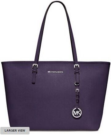 MICHAEL Michael Kors Jet Set Travel Top Zip Tote @ macys.com
