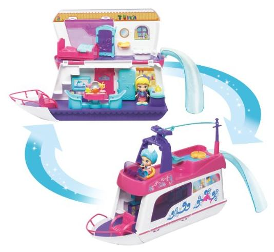 VTech Flipsies Sandy's House and Ocean Cruiser Doll House @ Amazon