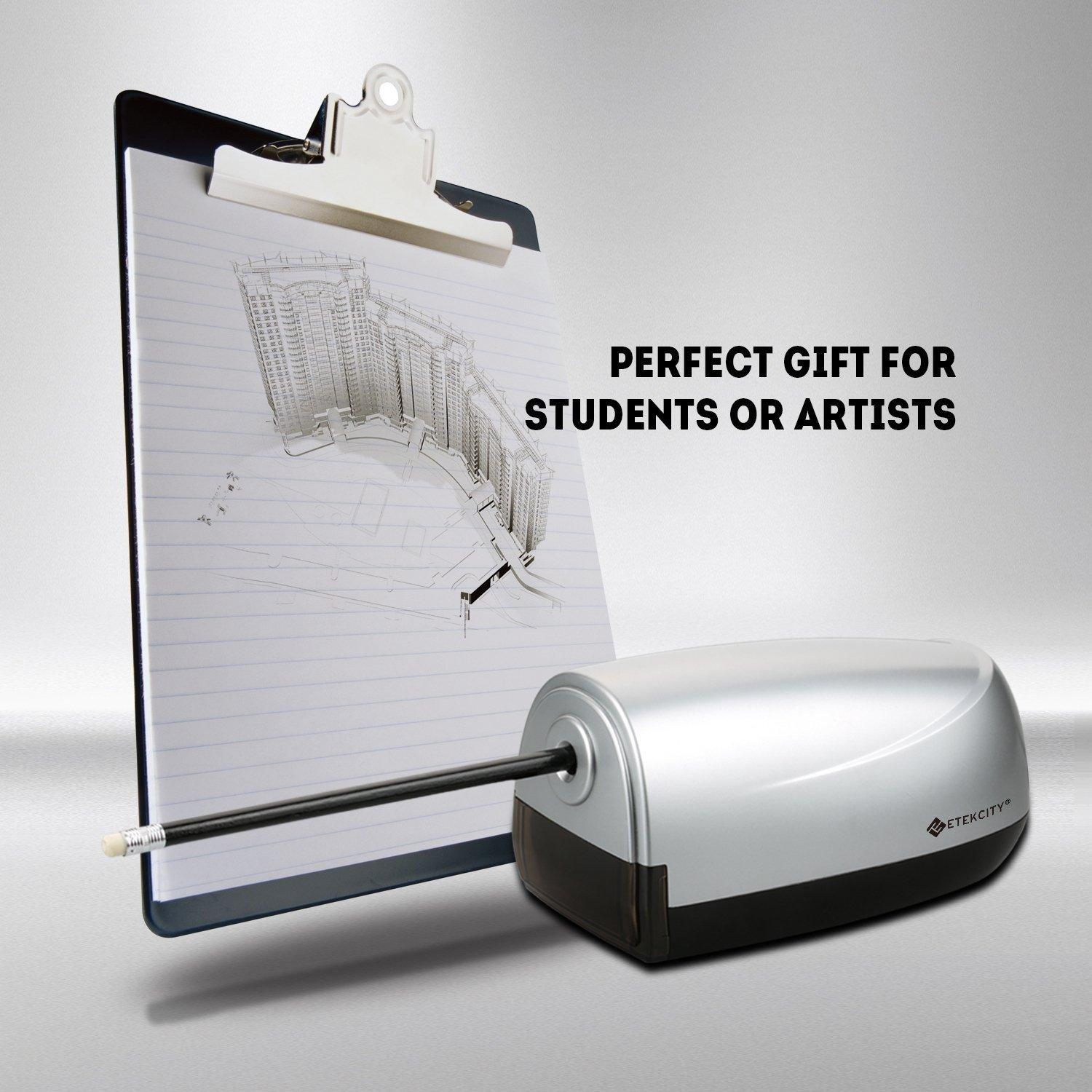 Etekcity Electric Heavy Duty Pencil Sharpener, Automatic Feed and Dispense