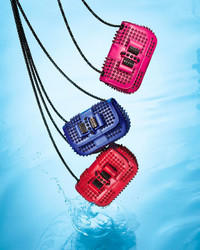 Christian Louboutin Sweet Charity Spiked Leather Crossbody Bag @ Saks Off 5th