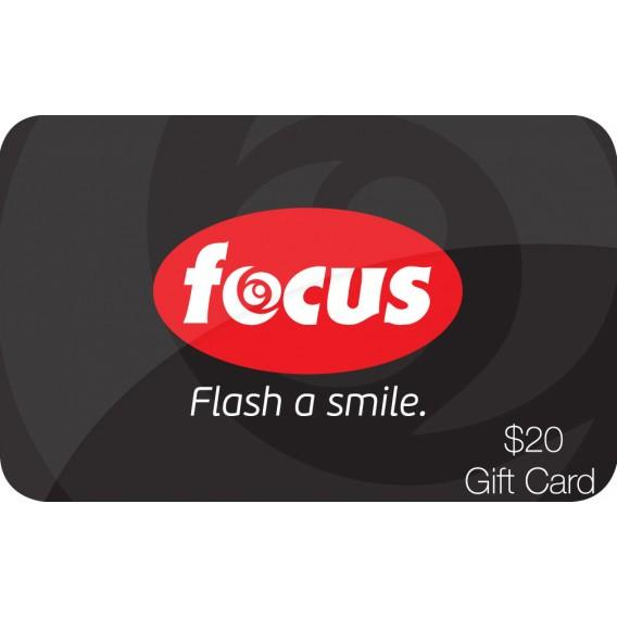 $20 Focus Camera Gift Card