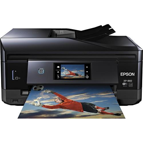 Epson Expression Photo XP860 Small-in-One Wireless Printer