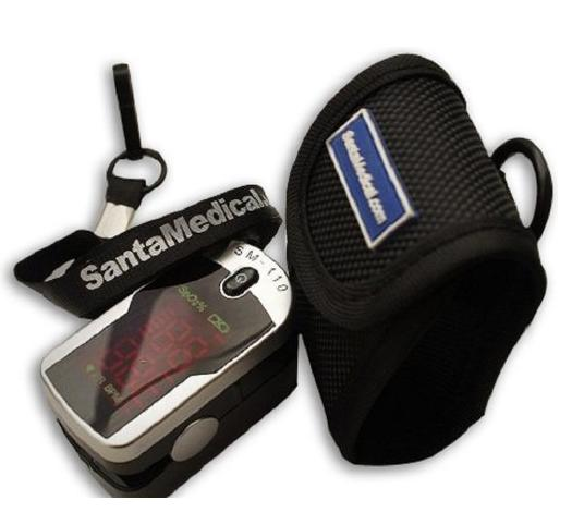 Finger Pulse OximeterSM-110with Carry Case and Neck/Wrist Cord
