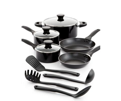 Tools of the Trade Nonstick Aluminum 12 Piece Cookware Set @ macys.com