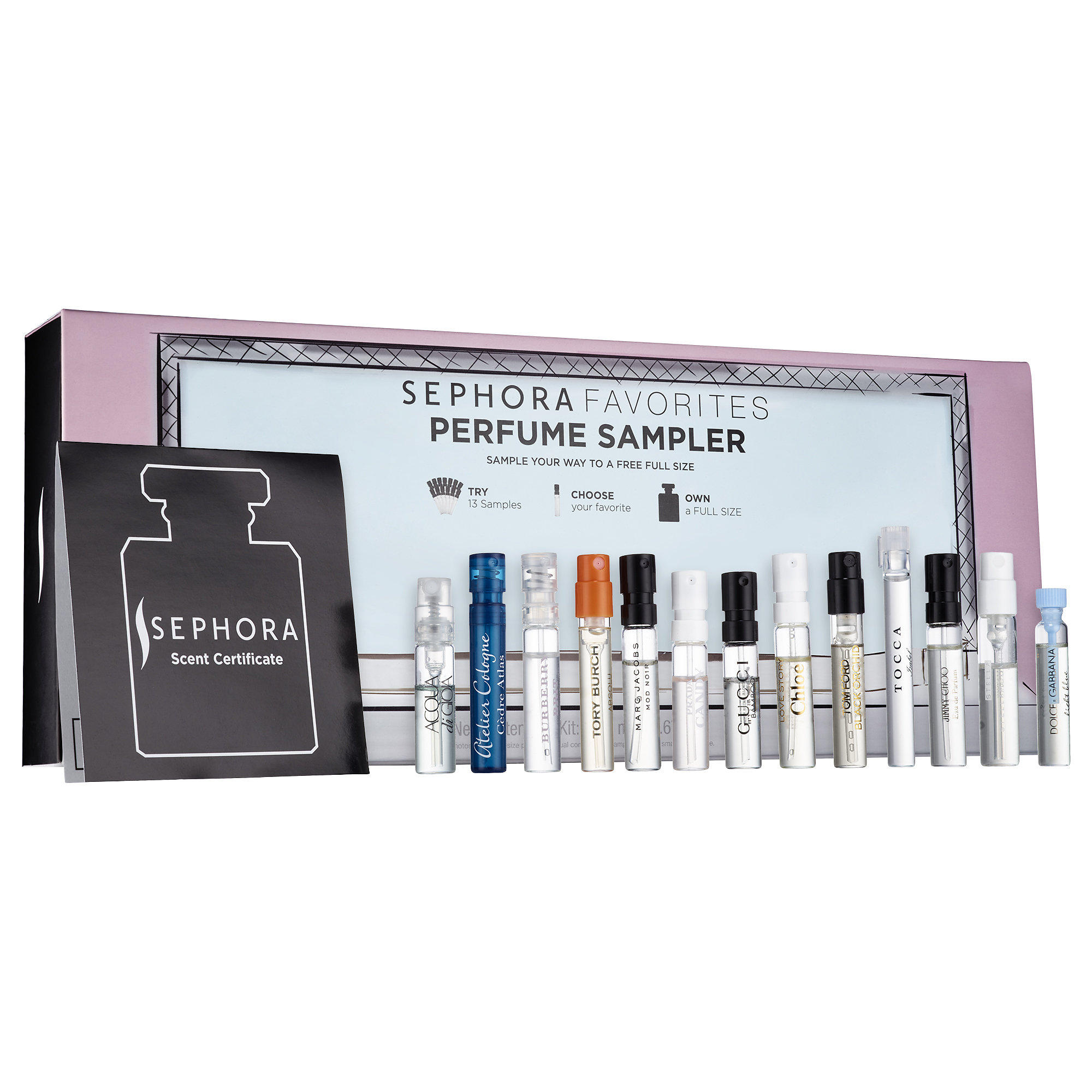 New Release Sephora launched New Sephora Favorites Perfume Sampler