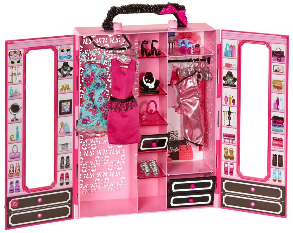 Barbie Closet and Fashion Set @ Amazon