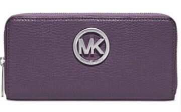 $71.99 + $10 Macy's Money MICHAEL Michael Kors Fulton Zip Around Continental Wallet @ macys.com