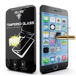 CellBee iPhone 6 6s Premium Tempered Glass Screen Protector