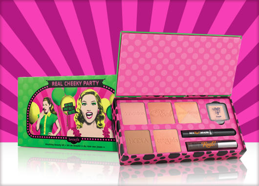 Benefit REAL Cheeky Party Blush Palette ($116 Value)