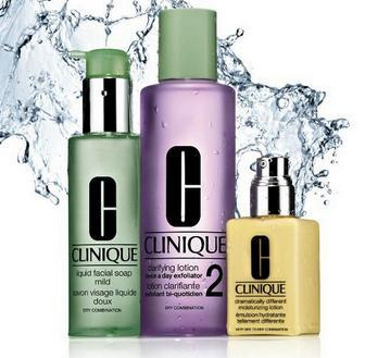 Choose a Free Skincare Trio with Any $25 Purchase @ Clinique