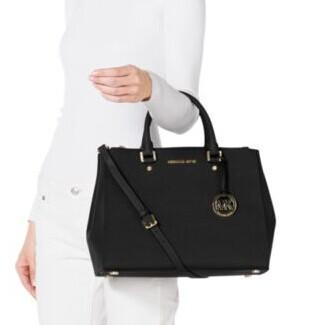 Sutton Saffiano Leather Large Satchel @ Michael Kors