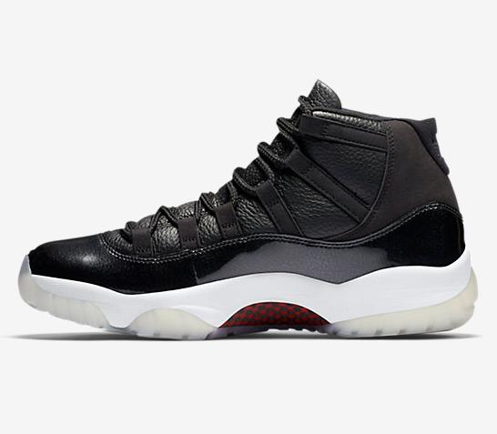 $220 AIR JORDAN XI RETRO THREE-QUARTER
