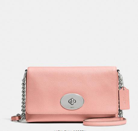 CROSSTOWN crossbody in pebble leather @ coach