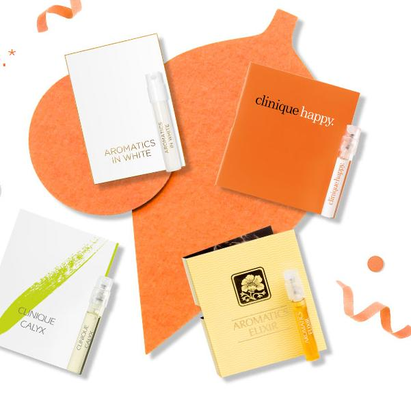 Free 4 Best Selling Fragrances With $35 Purchase @ Clinique