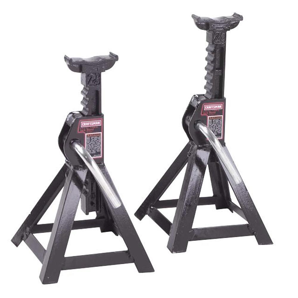$14.99 Craftsman 2.25 -Ton Jack Stands, One Pair